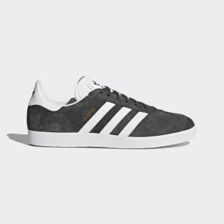 Buty Gazelle Shoes Dark Grey Heather/White/Gold Metallic BB5480