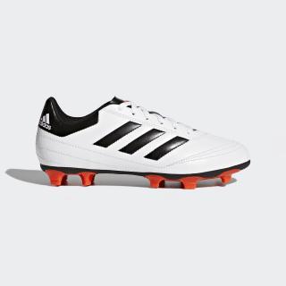 Zapatos de fútbol para césped natural seco Goletto 6 Cloud White / Solar Red / Core Black AQ4286