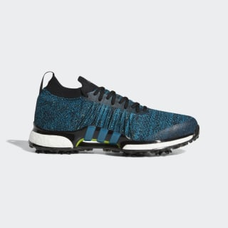 Tour360 XT Primeknit Shoes Core Black / Active Teal / Solar Slime F35407