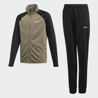 Pants Con Sudadera Yb Ts Entry Legacy Green / Semi Solar Yellow FM6570