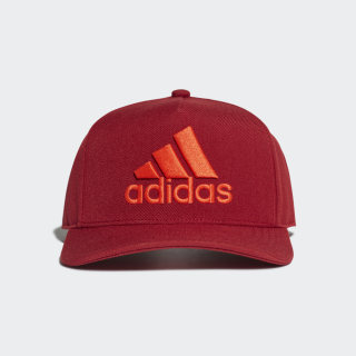 H90 Logo Cap Active Maroon / Active Maroon / Active Orange DZ8960