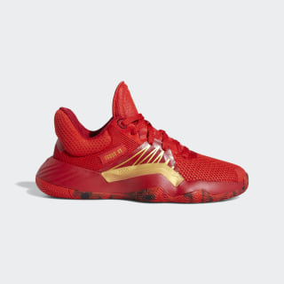 D.O.N. Issue #1 Shoes Red / Power Red / Gold Metallic EF2935