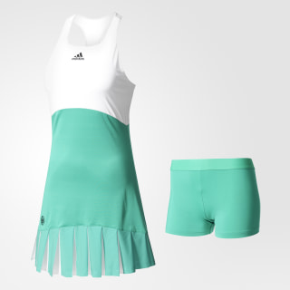 Платье Roland Garros On-Court core green s17 / white S99173