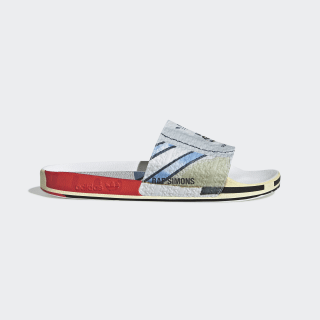 Chinelo Rs Micro Adilette Silver Met. / Bright Red / Bright Red EE7955