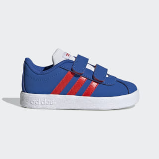 VL Court 2.0 Shoes Blue / Active Red / Cloud White EE6910