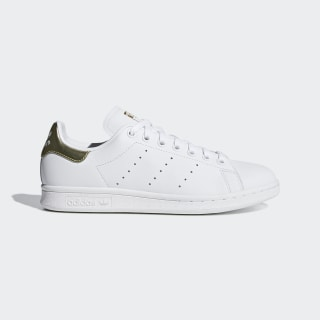 Sapatos Stan Smith Cloud White / Cloud White / Gold Met. EE8836