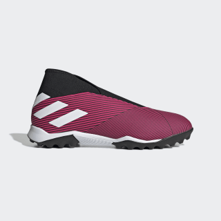 Chuteira Nemeziz 19.3 Society Shock Pink / Cloud White / Core Black EF0385