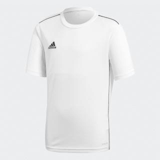 Koszulka treningowa Core 18 White / Black CV3497