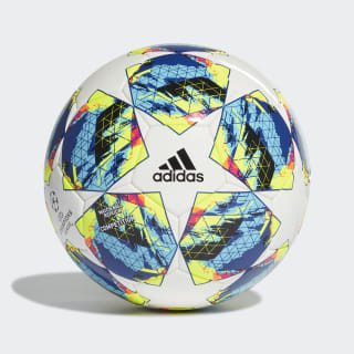 Bola Competition Finale White / Bright Cyan / Solar Yellow / Shock Pink DY2562