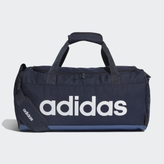Linear Logo Duffel Bag Legend Ink / Tech Indigo / White FM6745