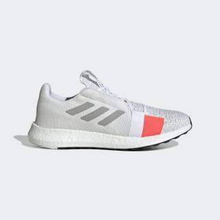 Tênis Senseboost Go Core White / Grey Two / Solar Red G27403