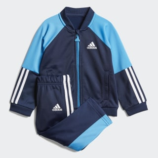 Shiny Track Suit Collegiate Navy / Shock Cyan / White DV1247