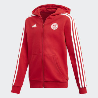FC Bayern Hoodie Fcb True Red / White DQ1248
