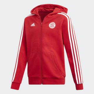FC Bayern München Kapuzenjacke Fcb True Red / White DQ1248