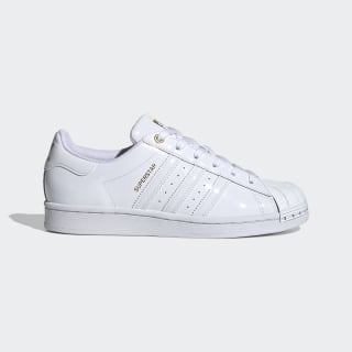 Superstar Metal Toe Shoes Cloud White / Cloud White / Gold Metallic FV3300