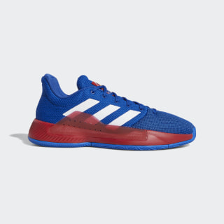 Pro Bounce Madness Low 2019 Shoes Blue / Cloud White / Power Red BB9225