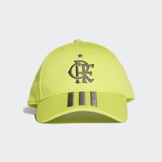 Boné CR Flamengo semi solar yellow / grey six DX9711