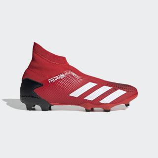 Botas de Futebol Predator 20.3 – Piso Firme Active Red / Cloud White / Core Black EE9554