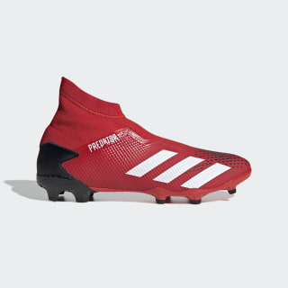 Predator 20.3 Firm Ground Cleats Active Red / Cloud White / Core Black EE9554