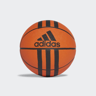 3-Stripes Mini Basketball Orange/Black X53042