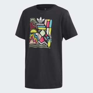 Polo Largo Boyfriend Black / Multicolor ED7870