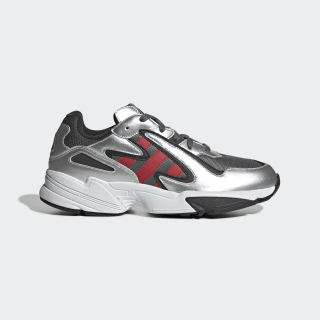 Zapatillas Yung-96 Chasm Grey Four / Scarlet / Silver Metallic EE7240