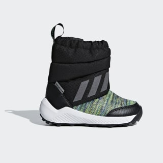RapidaSnow Beat the Winter Boots Core Black / Reflective Silver / Shock Lime AH2606
