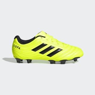 Футбольные бутсы Copa 19.4 FG solar yellow / core black / solar yellow F35461