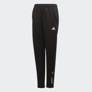 Kalhoty Climawarm Tapered Black / White ED5761