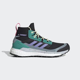 Chaussure de randonnée Terrex Free Hiker Core Black / Light Purple / Glory Green EG1846