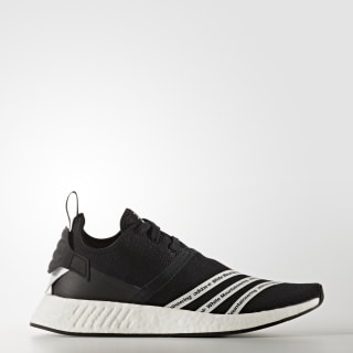 White Mountaineering NMD_R2 Shoes Core Black / Cloud White / Cloud White BB2978