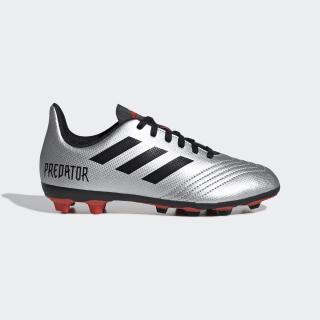 Calzado de Fútbol Predator 19.4 Multiterreno Silver Metallic / Core Black / Hi-Res Red G25822