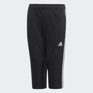 Укороченные брюки Tiro 19 black / white D95964