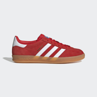 Chaussure Gazelle Indoor Active Red / Cloud White / Gum 3 EE5731
