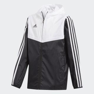Cortavientos con capucha Tiro Black / White DY0100