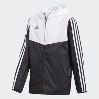 Tiro Windbreaker Black / White DY0100