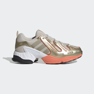 EQT Gazelle Shoes Clear Brown / Raw Gold / Semi Coral EE7747