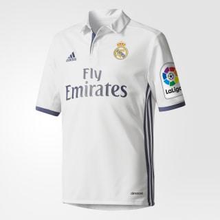 Camiseta de Real Madrid Home CRYSTAL WHITE/CRYSTAL WHITE/ WHITE AI5189