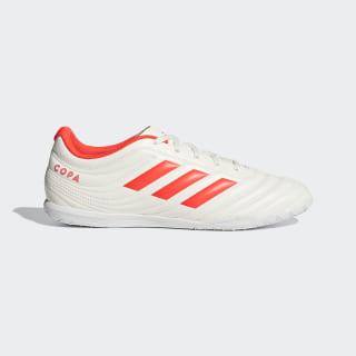 Chuteira Copa 19.4 Futsal off white/solar red/off white D98073