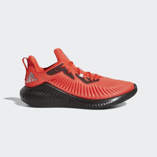 Zapatillas para correr Alphabounce+ Run EM Active Red / Silver Metallic / Cloud White G28589