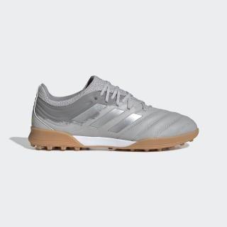 Botines Copa 20.3 Pasto Artificial Grey Two / Silver Metallic / Solar Yellow EF8340