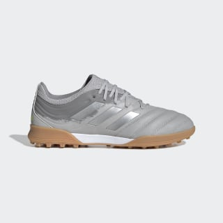 Chaussure Copa 20.3 Turf Grey Two / Silver Metallic / Solar Yellow EF8340