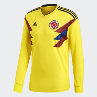 Colombia Home Jersey Bright Yellow / Collegiate Navy BR3511