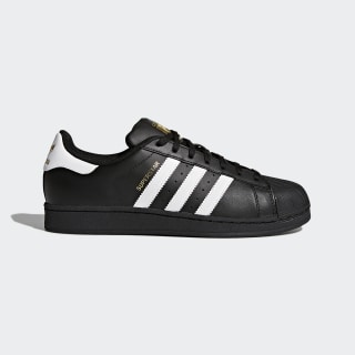 Superstar Foundation Shoes Core Black / Cloud White / Core Black B27140