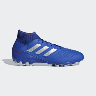 Bota de fútbol Predator 19.3 césped artificial Bold Blue / Silver Met. / Active Red BC0297