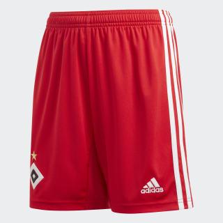 Hamburger SV Home Shorts Scarlet / White DX5921
