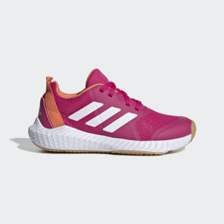 FortaGym Shoes Real Magenta / Cloud White / Semi Coral G27201