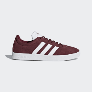 VL Court 2.0 Shoes Collegiate Burgundy / Cloud White / Core Black DA9855