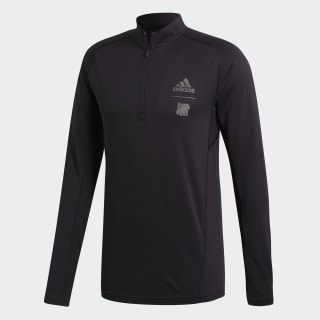 adidas x UNDEFEATED Running Half-Zip Black CZ5943