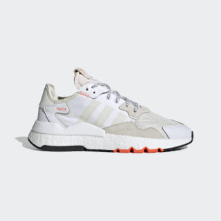 Nite Jogger Shoes Cloud White / Off White / Solar Orange EG2709